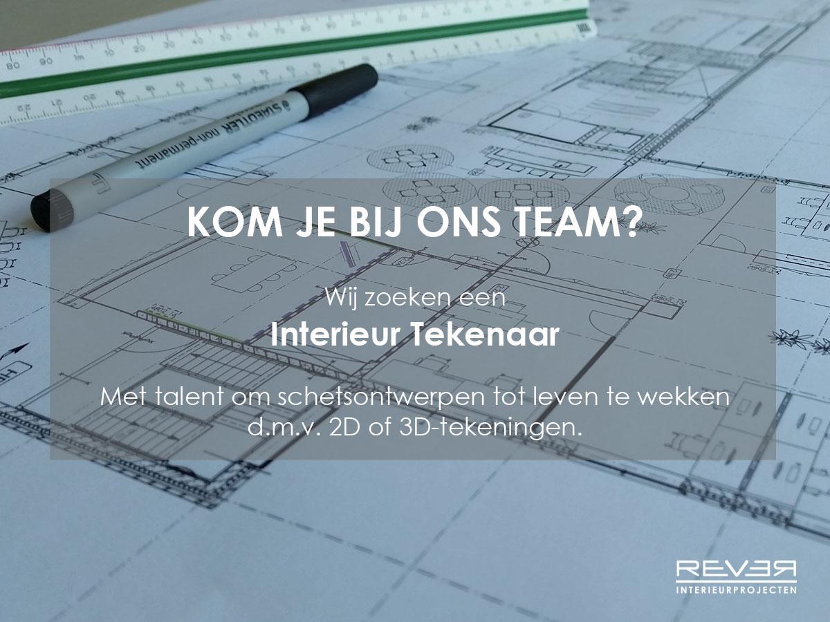 Vacature interieurtekenaar - Rever Interieurprojecten