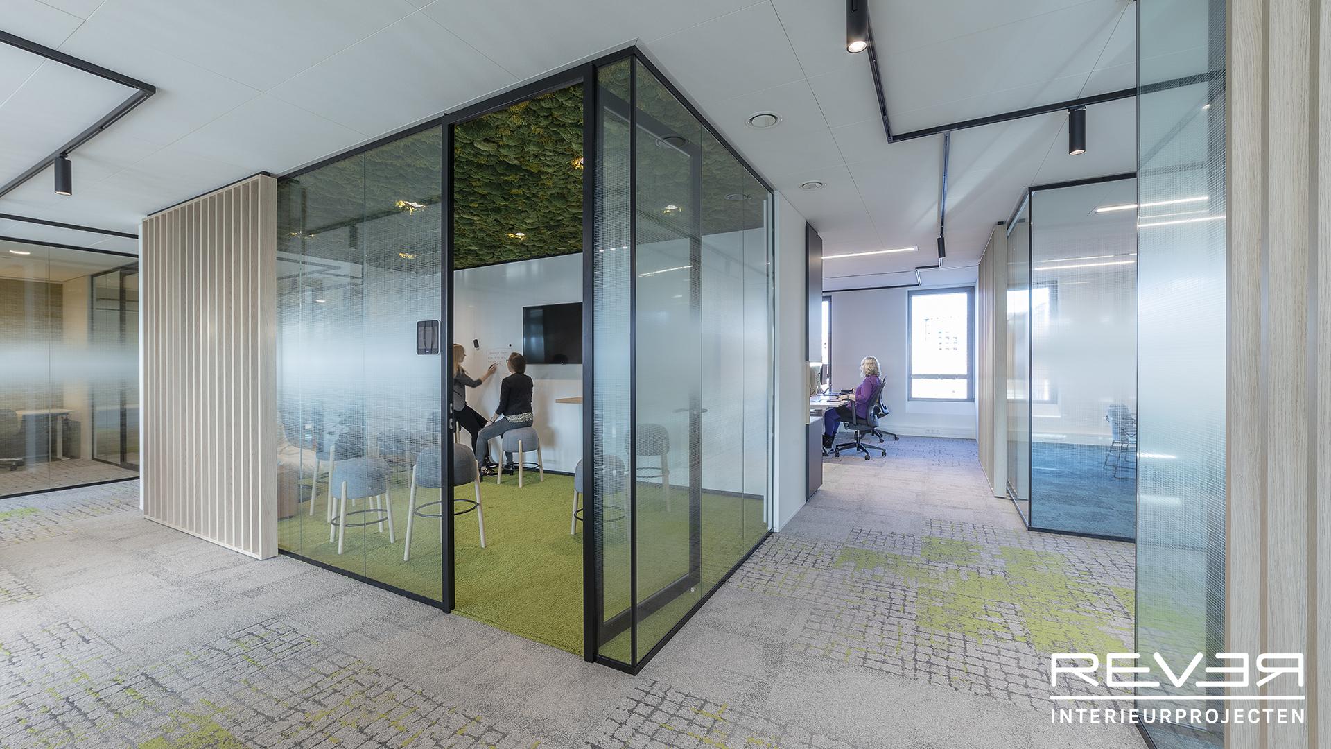 Kantoorinrichting Consultancy Bureau : Home rever interieurprojectenrever